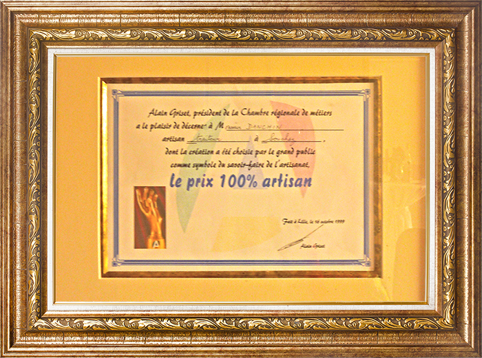 prix 100% artisan